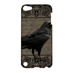 Vintage Halloween Raven Apple Ipod Touch 5 Hardshell Case
