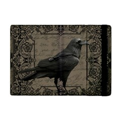 Vintage Halloween Raven Apple Ipad Mini Flip Case