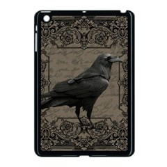 Vintage Halloween Raven Apple Ipad Mini Case (black)