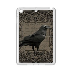 Vintage Halloween Raven Ipad Mini 2 Enamel Coated Cases