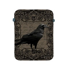 Vintage Halloween Raven Apple Ipad 2/3/4 Protective Soft Cases