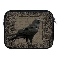 Vintage Halloween Raven Apple Ipad 2/3/4 Zipper Cases