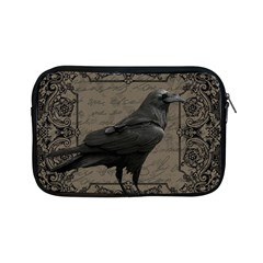 Vintage Halloween Raven Apple Ipad Mini Zipper Cases