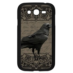Vintage Halloween Raven Samsung Galaxy Grand Duos I9082 Case (black)