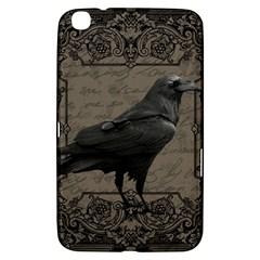 Vintage Halloween Raven Samsung Galaxy Tab 3 (8 ) T3100 Hardshell Case