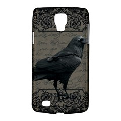 Vintage Halloween Raven Galaxy S4 Active