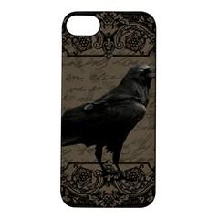 Vintage Halloween Raven Apple Iphone 5s/ Se Hardshell Case
