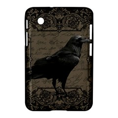 Vintage Halloween Raven Samsung Galaxy Tab 2 (7 ) P3100 Hardshell Case