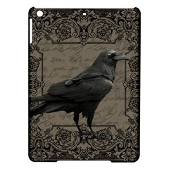 Vintage Halloween Raven Ipad Air Hardshell Cases