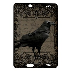 Vintage Halloween Raven Amazon Kindle Fire Hd (2013) Hardshell Case