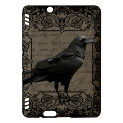 Vintage Halloween Raven Kindle Fire Hdx Hardshell Case