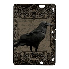Vintage Halloween Raven Kindle Fire Hdx 8 9  Hardshell Case