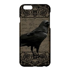 Vintage Halloween Raven Apple Iphone 6 Plus/6s Plus Hardshell Case