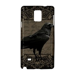 Vintage Halloween Raven Samsung Galaxy Note 4 Hardshell Case