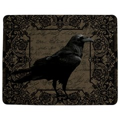 Vintage Halloween Raven Jigsaw Puzzle Photo Stand (rectangular)