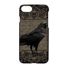 Vintage Halloween Raven Apple Iphone 7 Hardshell Case