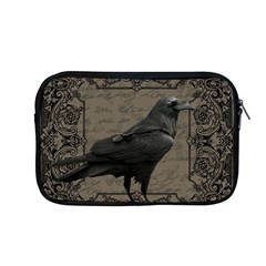 Vintage Halloween Raven Apple Macbook Pro 13  Zipper Case