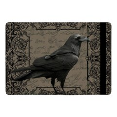Vintage Halloween Raven Apple Ipad Pro 10 5   Flip Case