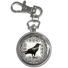 Vintage Halloween Raven Key Chain Watches
