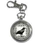 Vintage Halloween raven Key Chain Watches Front