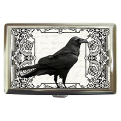 Vintage Halloween Raven Cigarette Money Cases