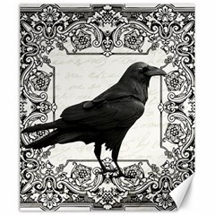 Vintage Halloween Raven Canvas 20  X 24