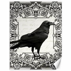 Vintage Halloween Raven Canvas 36  X 48