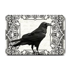 Vintage Halloween Raven Small Doormat