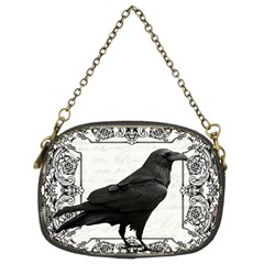 Vintage Halloween Raven Chain Purses (two Sides)
