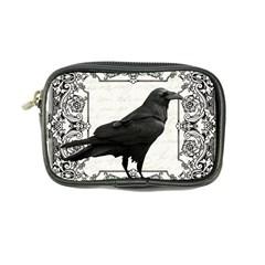 Vintage Halloween Raven Coin Purse