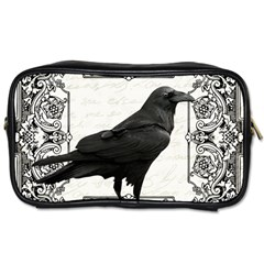 Vintage Halloween Raven Toiletries Bags