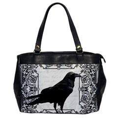Vintage Halloween Raven Office Handbags