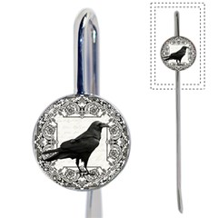 Vintage Halloween Raven Book Mark