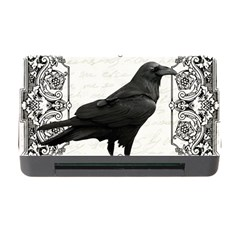Vintage Halloween Raven Memory Card Reader With Cf