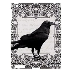 Vintage Halloween Raven Apple Ipad 3/4 Hardshell Case