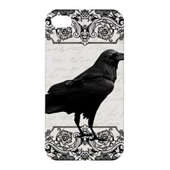 Vintage Halloween Raven Apple Iphone 4/4s Premium Hardshell Case