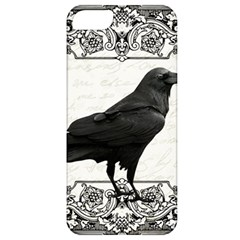 Vintage Halloween Raven Apple Iphone 5 Classic Hardshell Case