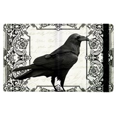 Vintage Halloween Raven Apple Ipad 2 Flip Case