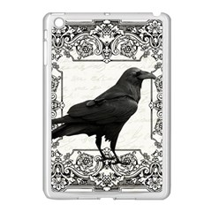 Vintage Halloween Raven Apple Ipad Mini Case (white)