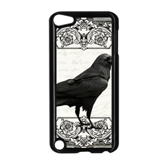 Vintage Halloween Raven Apple Ipod Touch 5 Case (black)