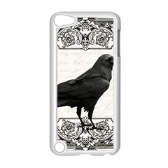 Vintage Halloween Raven Apple Ipod Touch 5 Case (white)