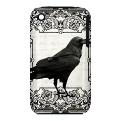 Vintage Halloween Raven Iphone 3s/3gs