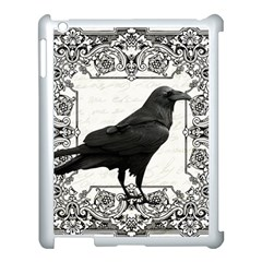 Vintage Halloween Raven Apple Ipad 3/4 Case (white)