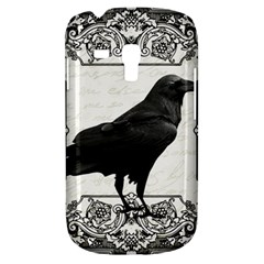Vintage Halloween Raven Galaxy S3 Mini