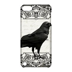 Vintage Halloween Raven Apple Ipod Touch 5 Hardshell Case With Stand