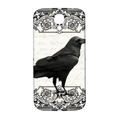 Vintage Halloween Raven Samsung Galaxy S4 I9500/i9505  Hardshell Back Case