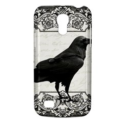 Vintage Halloween Raven Galaxy S4 Mini