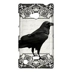 Vintage Halloween Raven Nokia Lumia 720