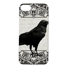 Vintage Halloween Raven Apple Iphone 5s/ Se Hardshell Case