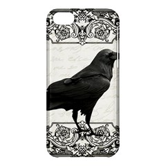 Vintage Halloween Raven Apple Iphone 5c Hardshell Case